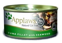 Applaws - Консервы для кошек (филе тунца с морской капустой) Cat Tuna Fillet and Seaweed