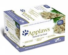"Applaws - Набор для Кошек ""Куриное ассорти"" (8 шт*60 г) Cat MP Selection Chicken"