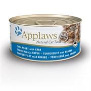 Applaws - Консервы для кошек (с тунцом и крабовым мясом) Cat Tuna and Crab