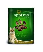 Applaws - Паучи для кошек (с курицей и спаржей) Cat Pouch Chicken and Asparagus