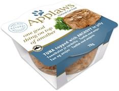 "Applaws - Консервы для кошек ""Тунец и Анчоус"" Layer Pot Tuna with Anchovy"