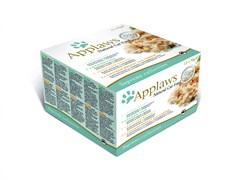 """Applaws - Набор консервов для кошек """"Коллекция вкусов"""" (12 шт*70 г) Supreme (Mixed) Selection"""