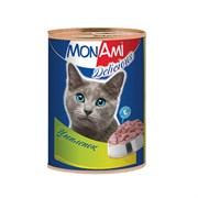 MonAmi - Консервы для кошек (с цыпленком)