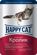 Happy Cat - Паучи для кошек (с кроликом)