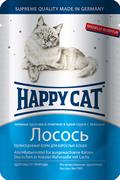 Happy Cat - Паучи для кошек (ломтики лосося)