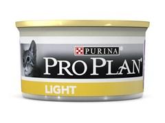 Purina Pro Plan - Влажный корм для кошек с избыточным весом и кошек, склонных к полноте (с индейкой)
