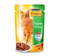 Purina Friskies - Влажный корм для кошек (с кроликом в подливе)