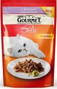 Purina Gourmet - Влажный корм для кошек (с ягненком) Mon Petit