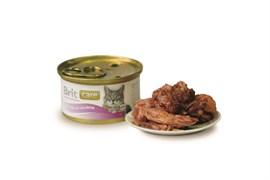 Brit - Консервы для кошек (с тунцом и лососем) Care Tuna & Salmon