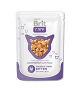 Brit - Паучи для котят (с курицей и сыром) Care Chicken&Cheese Kitten