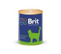 Brit - Консервы для кошек (с говядиной) BEEF