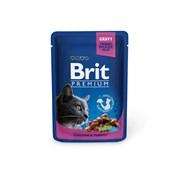 Brit - Паучи для кошек (с курицей и индейкой) Chicken & Turkey