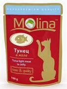 """Molina - Паучи для кошек """"Тунец в желе"""""""