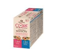 """Wellness Core - Консервы для кошек """"Ассорти"""" (рубленный тунец в бульоне) 8 шт*79 г Signature Selects"""