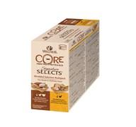 """Wellness Core - Консервы для кошек """"Ассорти"""" (измельченное куриное филе в соусе) 8 шт*79 г Signature Selects"""