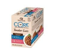 "Wellness Core - Паучи для кошек ""Ассорти"" (нежные кусочки тунца) 6 шт*85 г Tender Cuts"