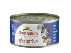 "Almo Nature Alternative - Консервы для кошек ""Тунец"" HFC CATS TUNA"
