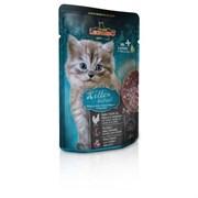 Leonardo - Паучи для котят (c мясом птицы) Finest Selection Kitten Poultry