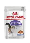 Royal Canin - Паучи для взрослых стерилизованных кошек (в желе) STERILISED