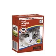 BOZITA - Консервы для кошек (кусочки в соусе с говядиной) Feline Beef Tetra Pak