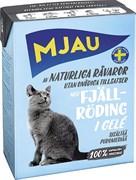 Mjau - Консервы для кошек (кусочки в желе с арктическим лососем) Tetra Recart