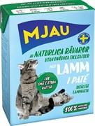 Mjau - Паштет для кошек (с ягненком) Tetra Recart