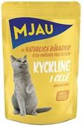 "Mjau - Паучи для кошек ""Курица в желе"""