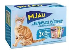 """Mjau - Набор паучей """"Ассорти из мяса и рыбы"""" (12 шт*85 г) Multipack Meat & fish mix"""