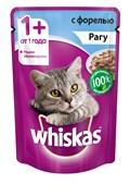 Whiskas - Паучи для кошек (Рагу с форелью)