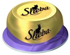 Sheba - Консервы для кошек (Коктейль из тунца и отборных креветок)