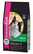 Eukanuba - Сухой корм для кошек, склонных к образованию волосяных комков в желудке (с курицей и печенью) Cat Adult Hairball Control