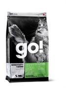 GO! Natural Holistic - Сухой корм беззерновой для котят и кошек с чувствительным пищеварением (с форелью и лососем) Sensitivity + Shine Grain Free Freshwater Trout&Salmon Cat Recipe