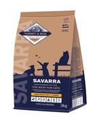 SAVARRA - Сухой корм для взрослых кошек с избыточным весом и стерилизованных (индейка с рисом) Light Cat Turkey & Rice
