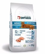 Ontario - Сухой корм для взрослых кошек (с морской рыбой) Adult Ocean Fish