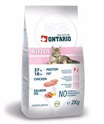 Ontario - Сухой корм для котят с курицей Kitten