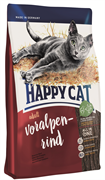 """Happy Cat - Сухой корм для взрослых кошек """"Альпийская говядина"""" Adult"""