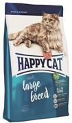 Happy Cat - Сухой корм для взрослых кошек крупных пород XL Adult Large breed