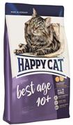 Happy Cat - Сухой корм для пожилых кошек Senior Best Age 10+