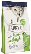 """Happy Cat - Сухой корм для кошек с чувствительным пищеварением """"Домашняя птица"""" Sensitive"""
