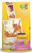 Purina Friskies - Сухой корм для котят (с курицей, молоком и овощами)