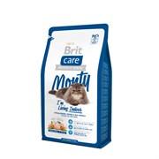 Brit - Сухой корм для кошек, живущих в квартире Care Cat Monty Indoor