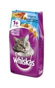 Whiskas - Сухой корм для кошек (подушечки с паштетом из лосося)