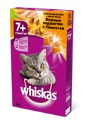 Whiskas - Сухой корм для кошек старше 7 лет (подушечки с паштетом из птицы)
