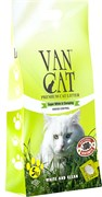 Van Cat - Наполнитель комкующийся без пыли для кошек (с ароматом соснового леса) Pine