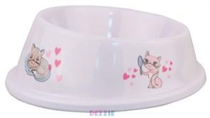 Dezzie - Миска для кошек разноуровневая 150 мл, пластик