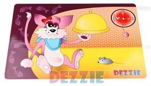 """Dezzie - Коврик под миску """"Обед"""", 43х28 см"""