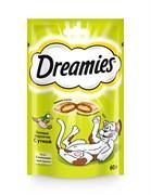 Dreamies - Лакомые подушечки (с уткой)