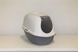 Moderna - Туалет-домик SmartCat с угольным фильтром, 54х40х41см, серый