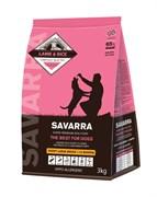 SAVARRA - Сухой корм для щенков крупных пород (ягненок с рисом) Puppy Large Breed Lamb & Rice