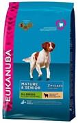 Eukanuba - Сухой корм для зрелых и пожилых собак всех пород (с ягненком и рисом) Dog Mature & Senior All Breeds Rich in Lamb & Rice